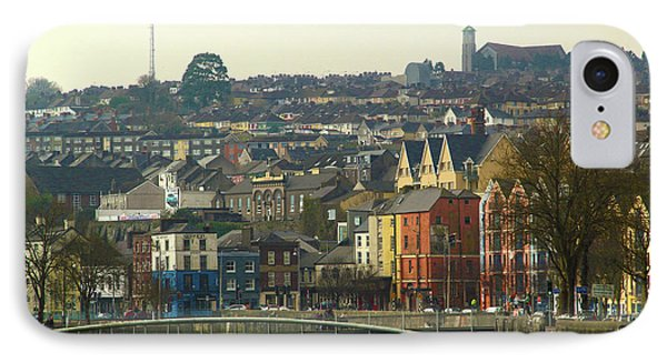 On The River Lee, Cork Ireland IPhone Case by Marie Leslie