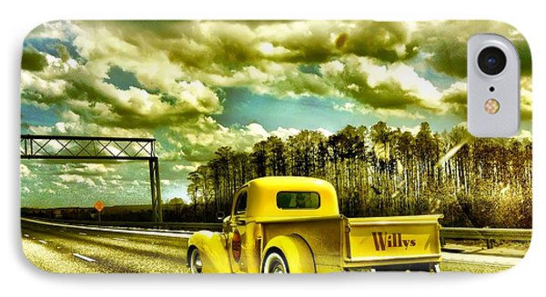 On The Road Again IPhone Case by Carlos Avila