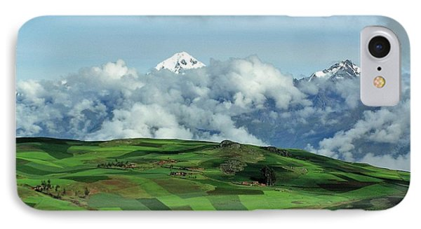 On The Road From Cusco To Urubamba IPhone Case