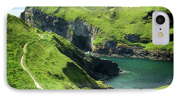 IPhone Case featuring the photograph On The Road To Tintagel by Connie Handscomb