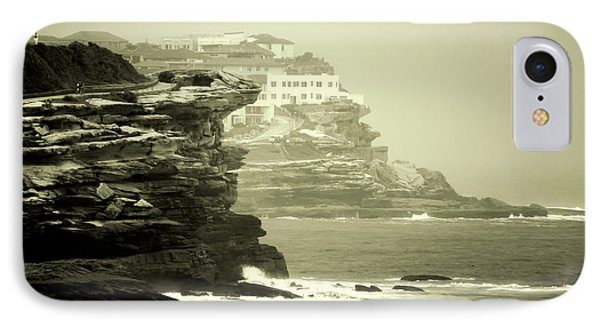 On The Rugged Cliffs Phone Case by Holly Kempe
