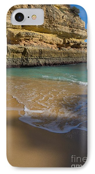 On The Sands Of Fontainhas Beach 2 IPhone Case