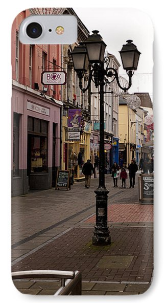 On The Street In Cork Phone Case by Rae Tucker