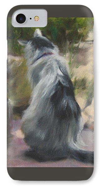 On The Threshold IPhone Case
