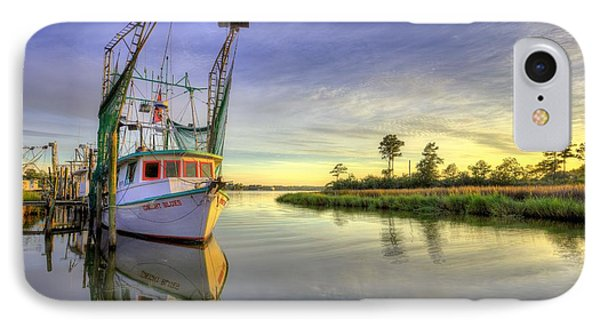 On The Water In Bon Secour IPhone Case