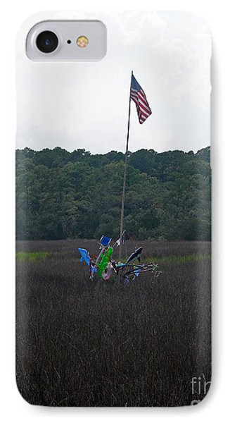 On The Way To Edisto IPhone Case by Skip Willits