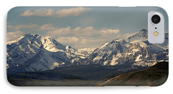 On The Way To Jacksonhole Wy Phone Case by Susanne Van Hulst