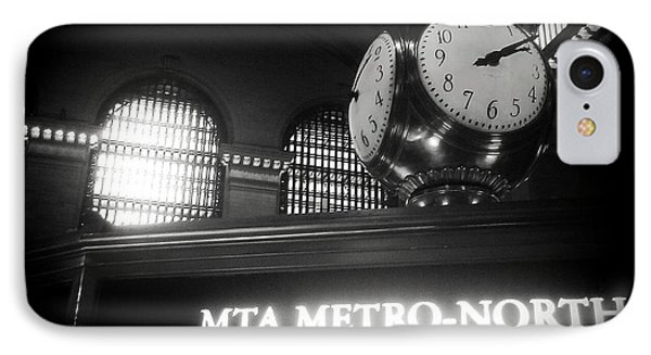 IPhone Case featuring the photograph On Time At Grand Central Station by James Aiken