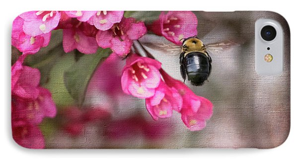 On Wine And Roses Weigela - 2 IPhone Case