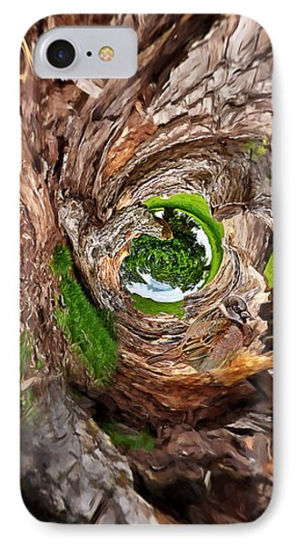 IPhone Case featuring the photograph Once A Tree by Pennie  McCracken