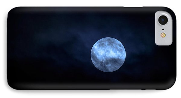 Once In A Blue Moon IPhone Case