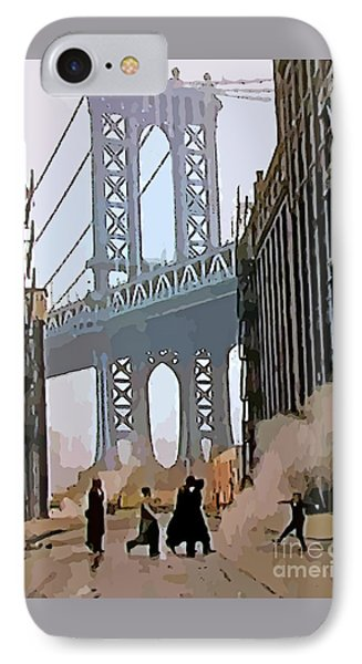 Once Upon A Time In America IPhone Case by John Malone