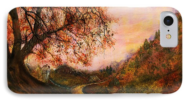 Once Upon October Phone Case by Patricia Motley