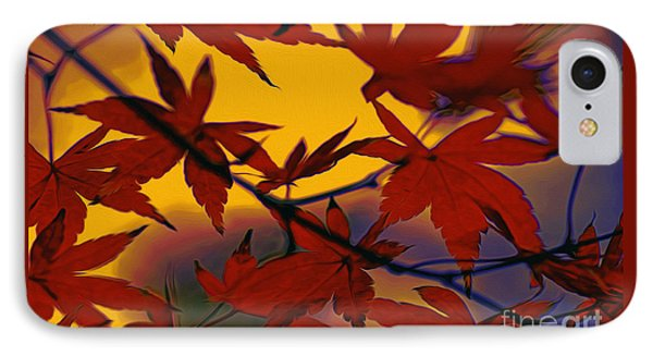 One Autumn Evening By Kaye Menner IPhone Case by Kaye Menner