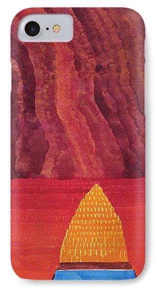 One Brush Original Painting IPhone Case