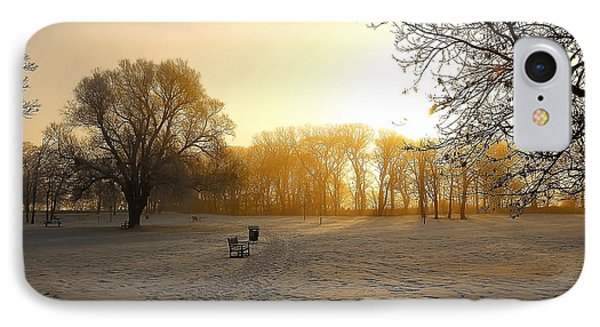 One Cold Morning IPhone Case by Svetlana Sewell