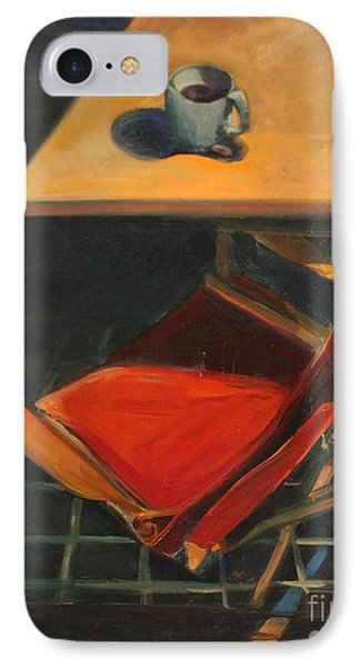 IPhone Case featuring the painting One Cup by Daun Soden-Greene
