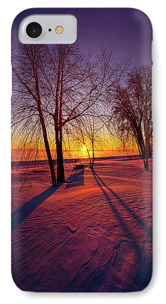 IPhone Case featuring the photograph One Day Closer by Phil Koch