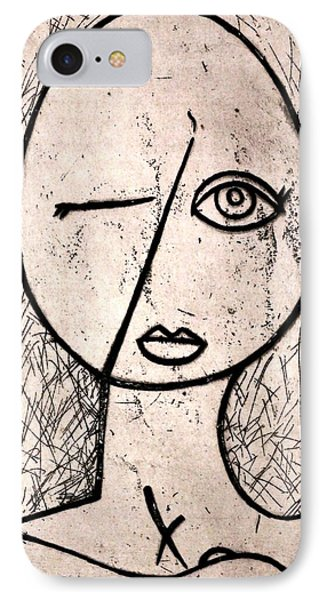 One Eye IPhone Case by Thomas Valentine
