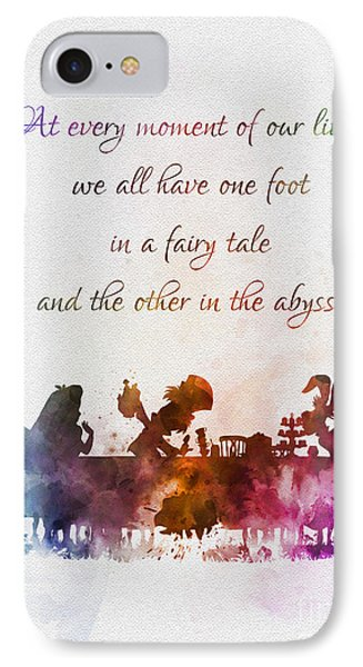 One Foot In A Fairy Tale IPhone Case
