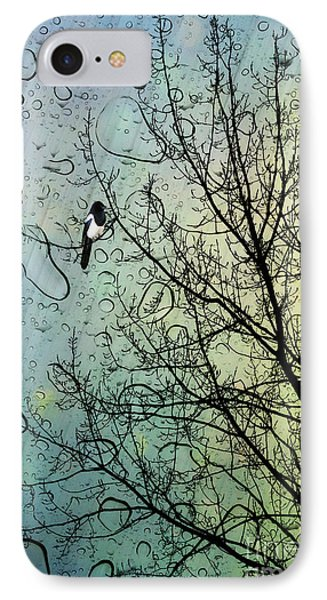 One For Sorrow IPhone 7 Case by John Edwards