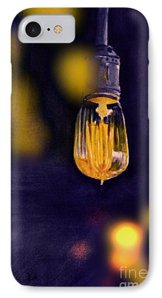 One Light IPhone Case by Allison Ashton