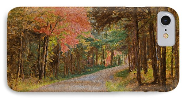 One More Country Road IPhone Case by John Selmer Sr