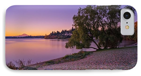 One Morning At The Lake IPhone Case