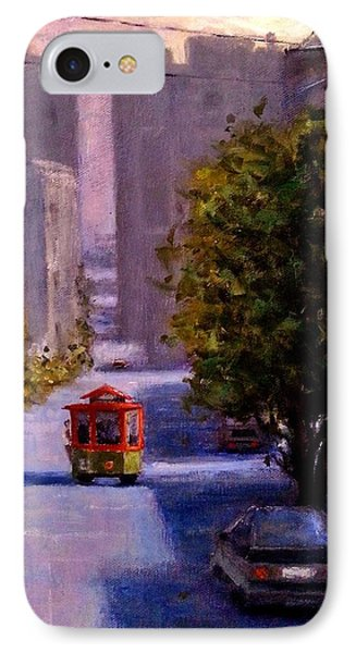 One Quiet Afternoon In San Francisco.. IPhone Case