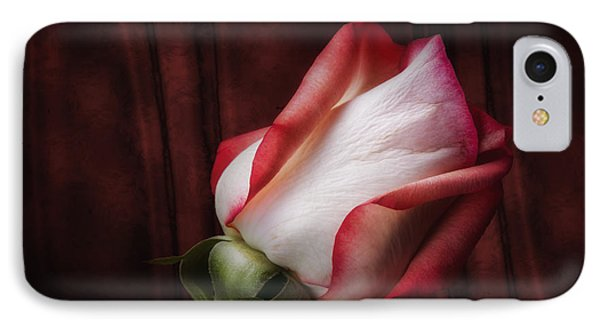 One Red Rose Still Life IPhone Case by Tom Mc Nemar