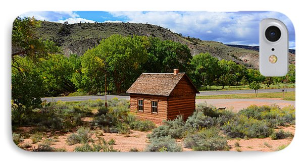 One Room School House  IPhone Case by David Lee Thompson