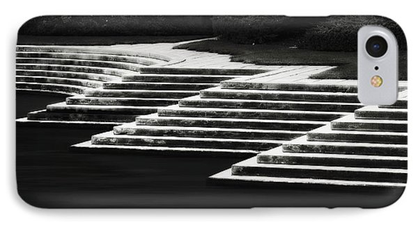 One Step At A Time IPhone Case by Eduard Moldoveanu