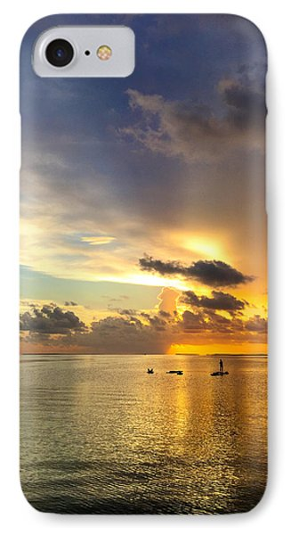 IPhone Case featuring the photograph One Summer Night... by Melanie Moraga