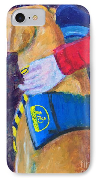 IPhone Case featuring the painting One Team Two Heroes 3 by Donald J Ryker III
