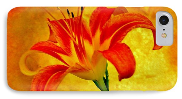 IPhone Case featuring the photograph One Tigerlily by Marsha Heiken