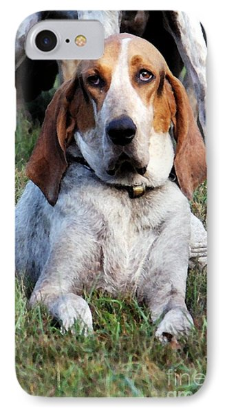 One Tired Hound IPhone Case