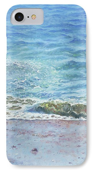 IPhone Case featuring the painting One Wave by Martin Davey