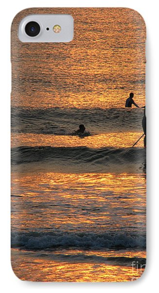 One With Nature IPhone Case by Greg Patzer