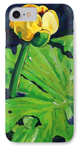 One Yellow Lily IPhone Case
