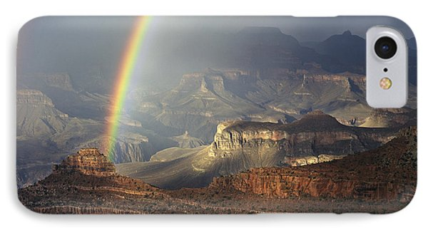 O'neill Butte Rainbow IPhone Case by Mike Buchheit