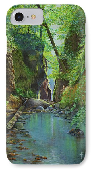 Oneonta Gorge IPhone Case by Jeanette French