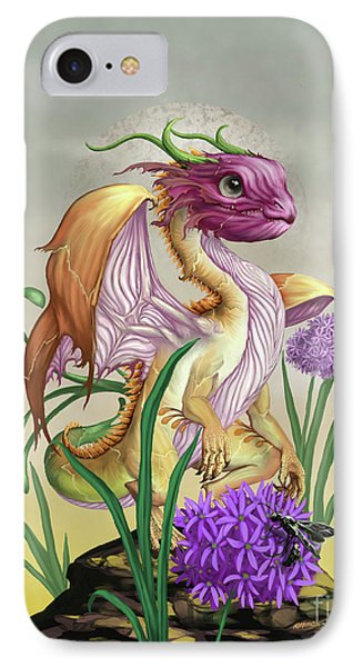 IPhone Case featuring the digital art Onion Dragon by Stanley Morrison