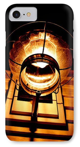 Onion Lamp At Night Phone Case by Robert Morin