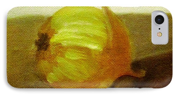 IPhone Case featuring the painting Onion by Patricia Cleasby