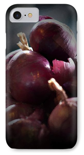 IPhone Case featuring the photograph Onions 1 by Travis Burgess