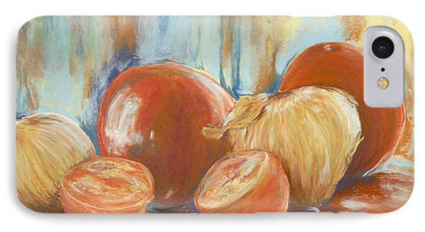 Onions And Tomatoes IPhone Case by AnnaJo Vahle