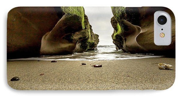 Only At Low Tide IPhone Case by Ryan Weddle