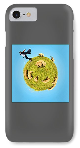 Only One Black Sheep? IPhone Case