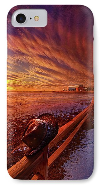IPhone Case featuring the photograph Only This Moment In Between Before And After by Phil Koch
