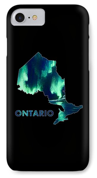 Ontario - Northern Lights - Aurora Hunters IPhone Case by Anastasiya Malakhova
